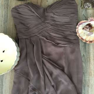 Mendocino Dress In Taupe