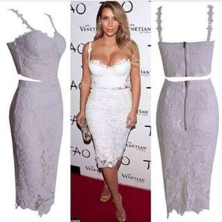 Lace White Set In Size Small