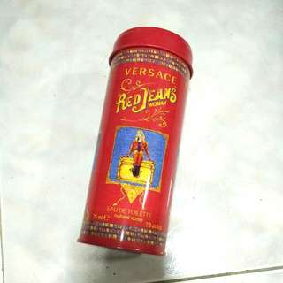 Versace Red Jeans EDT - tin only