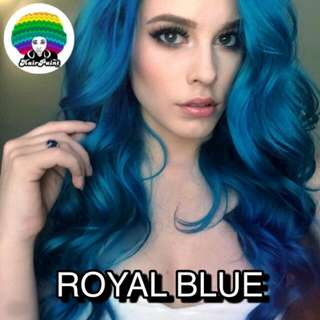 ROYAL BLUE HAIR DYE
