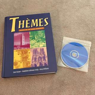 Themes French Textbook With CDs