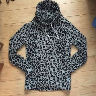 Leopard Print Sweater (Small)