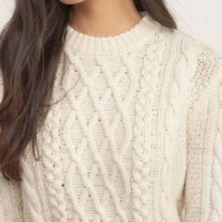 Abercrombie/A&F Cable Knit Sweater