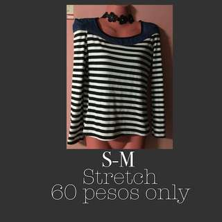 BW Long Sleeves Top