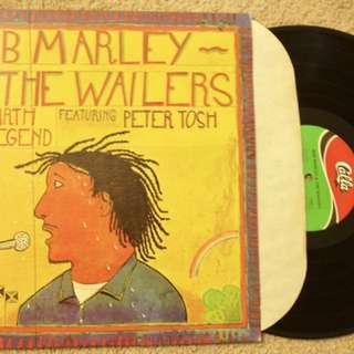Bob Marley And The Wailer Ft. Peter Tosh Vintage Reggae Vinyl