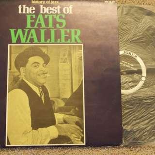 Best Of Fats Waller Vintage Jazz Vinyl Record