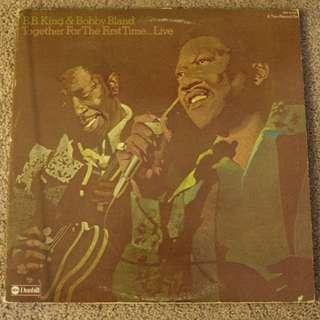 B.B. King And Bobby Bland Live Vintage Blues Vinyl Record