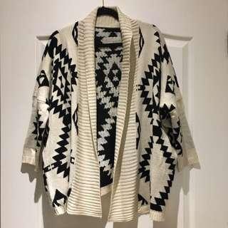 Geometric Knit Sweater