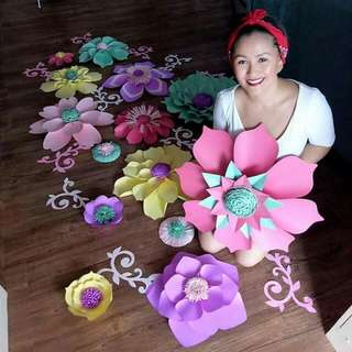 Beautifully Handcrafted Paper Flowers