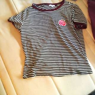 Ardene Stripes Tshirt