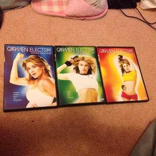 Carmen Electra's DVDs