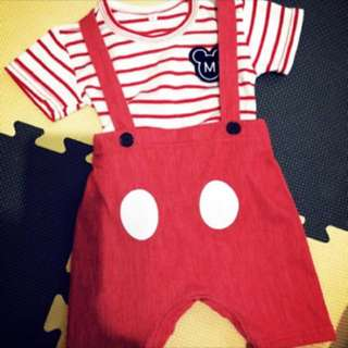 3-6個月 嬰兒 寶寶 女寶 洋裝 包屁衣