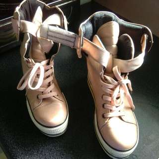 Pink Boot Size 8