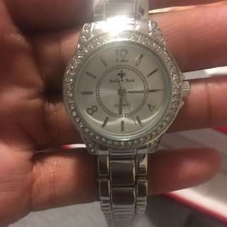 BNIB Silver Women's Bella & Rose Watch