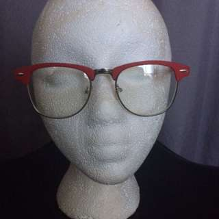 Red Club master Style Glasses
