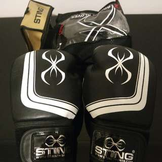 NEW Sting Orion Premium Leather Boxing / MMA Competition Gloves 16oz