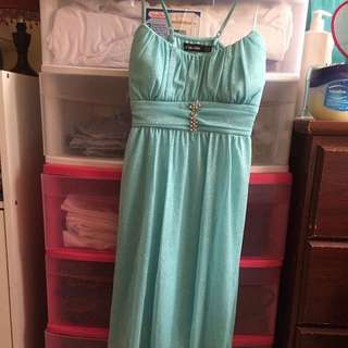 Le Chateau Light Blue Dress