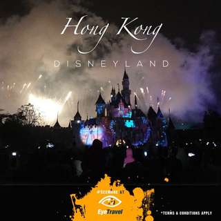 Tickets to Hong Kong Disneyland