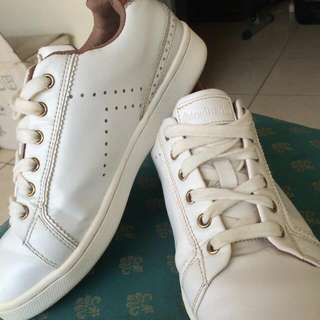 #LIKE A NEW! stradivarius women white sneaker