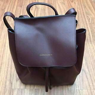 CHARLES & KEITH Backpack  For P1,450.00
