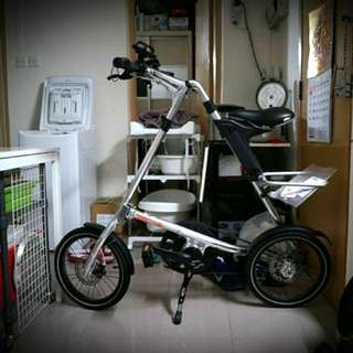 Strida Evo 3 銀色