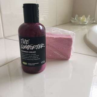 Lush Shower Cream/ Soap