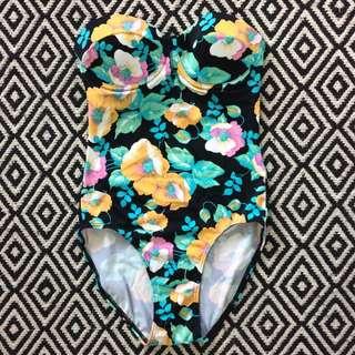 Floral One Piece Swimwear