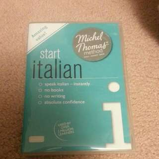 Start Italian Michel Thomas Method