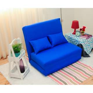 日式簡約和室單人摺疊沙發椅/沙發床