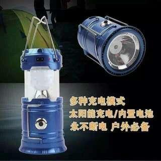 Emergency Light Solar Charge