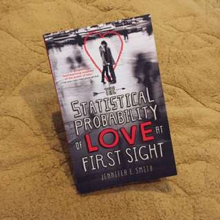 Novel import romance second/bekas/preloved The statistical probability of love at first sight