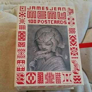 James Jean Art Post Cards