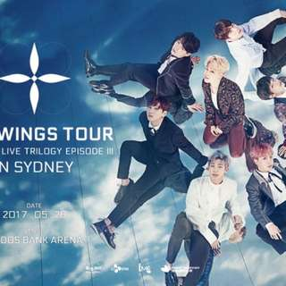Price Reduced By $40 BTS tickets VIP LEFT STANDING