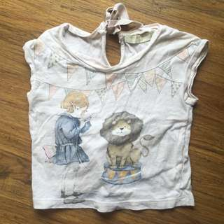 Gingersnaps Tiny Lion Top