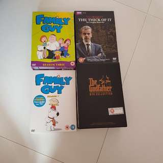 Dvd Box Set All In The Picture