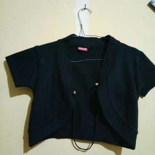 Black Cardigan By Ellena Collection 35rb