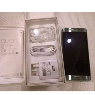 Samsung Galaxy S6 Edge Gold 4G+ 32GB with complete new package