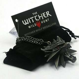 Witcher Pendant Wolf School