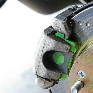 Super Saga MSF 800 Degree Brake Pads (Front)