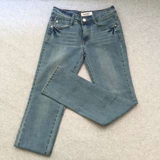 [二手] 經典牛仔藍 牛仔褲