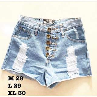 Highwaist  Ripped Jeans Size L