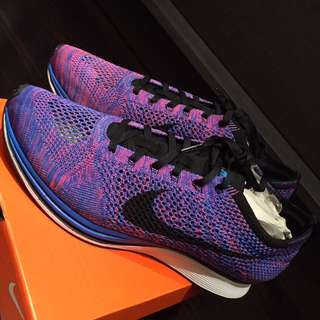 Nike Flyknit Racer (Size 10) Game Royale