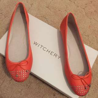 Witchery Tangelo Flats