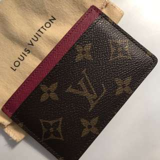 Louis Vuitton Red Cardholder