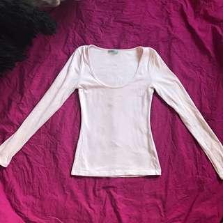 Kookai Light Pink Long Sleeve