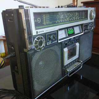 Radio Tape JVC BIPHONIC th 1970, JCC SW1-SW4,