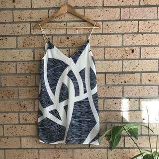Patterned Slip Dress