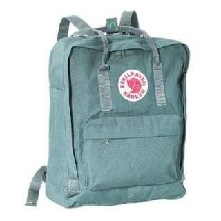 Fjallraven Kanken Frost Green Bag