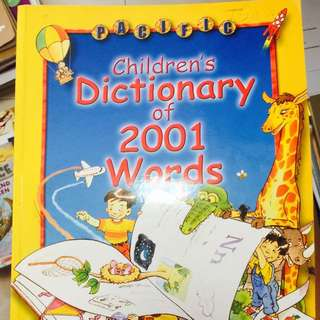 [FREE DELIVERY] Children's Dictionary Of 2001 Words