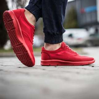 VANS ISO1.5 Red Mono REPRICED
